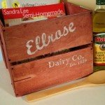 Clean Up the Clutter with a Vintage Wooden Crate