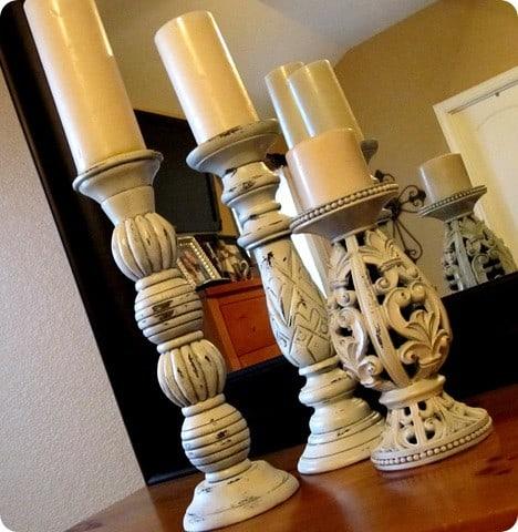 Acanthus Pillar Holders