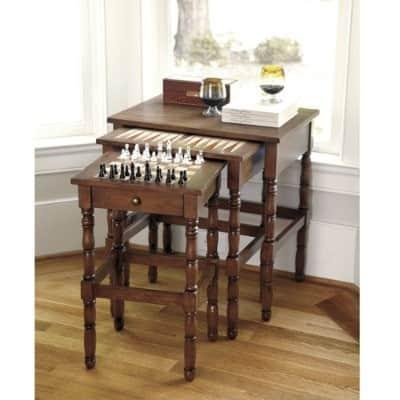 ballard designs stauton nesting game tables