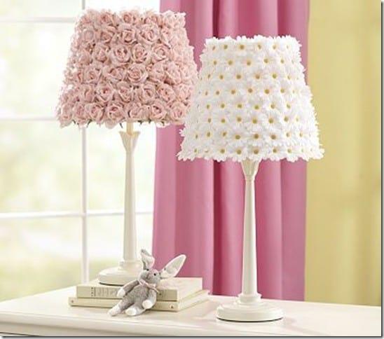 Petal Wall Lamp And Decor : Rose Petal Lamp Shade