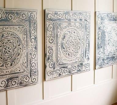 Vintage Tin Tiles Knockoffdecor Com