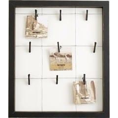 9 clip window wall frame
