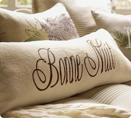 Bonne Nuit Lumbar Pillow Knockoffdecor Com