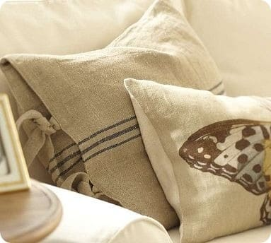 cafestripepillowcover