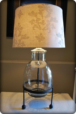 Eva Colored Glass Lamp - Renovations - Haven Home ...