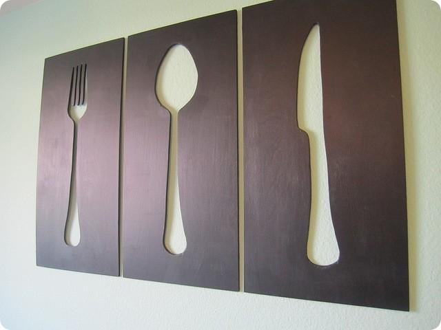 silverware silhouettes