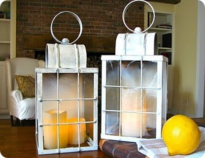 Windowpane Lantern
