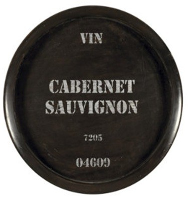 Wine Barrel Cabernet Sauvignon Plaque
