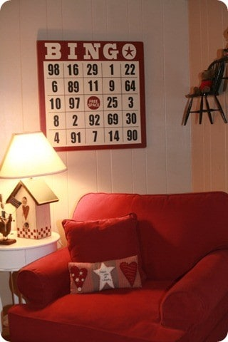 Bingo Card Wall Art