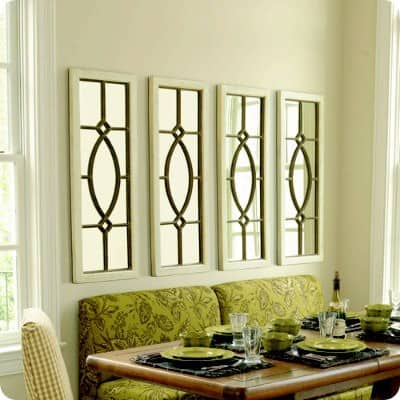 Garden district mirrors for Ballard designs dining room