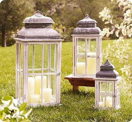 Park Hill Windowpane Lanterns