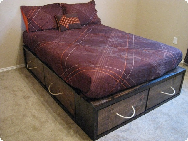 Popular This the perfect bed frame for a smaller room that needs that extra storage