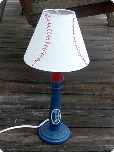 Baseball Stitching Lamp