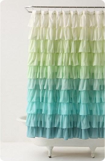 Flamenco shower curtain