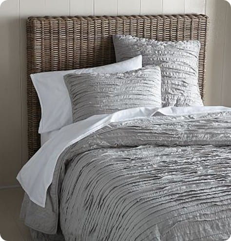 Frayed-Edge Quilt and Shams 2