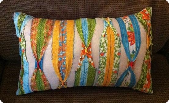 Quilting Strip Pillow