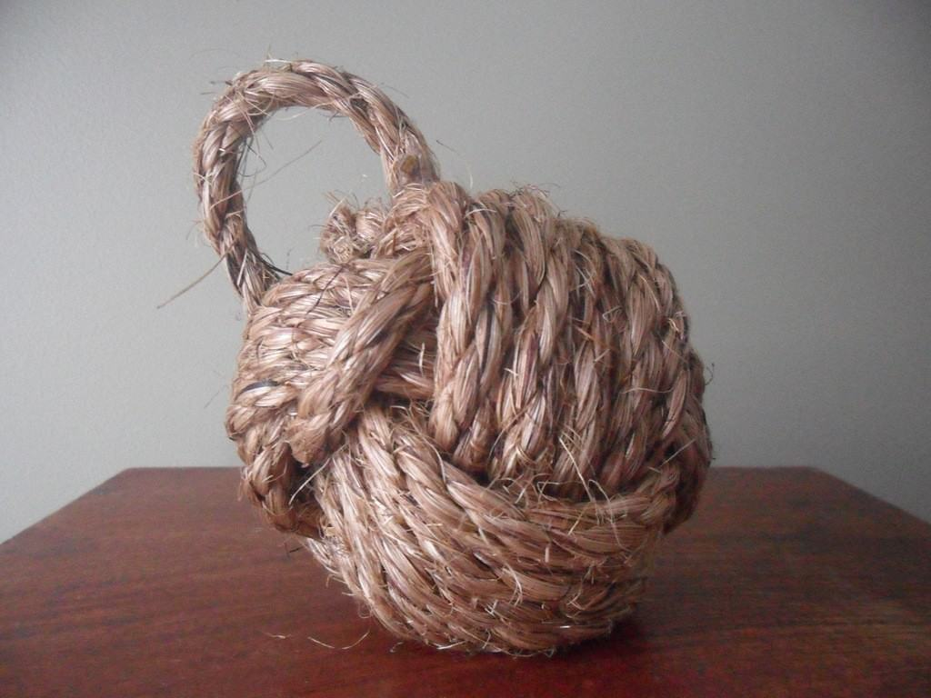Rope Knot Doorstop Knockoffdecor Com