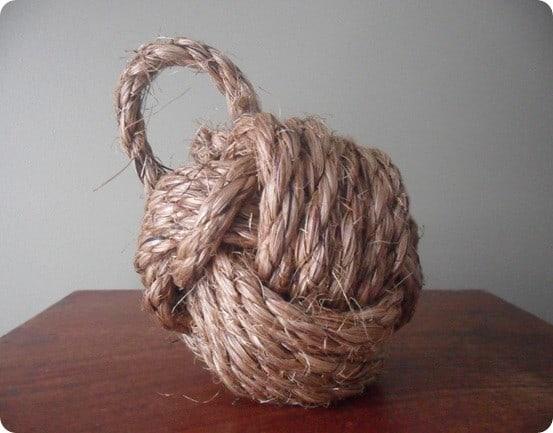 Rope Knot Doorstop 4
