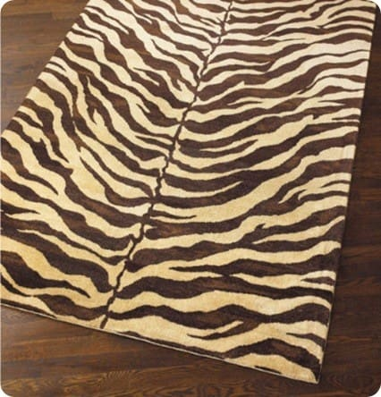 Safari Zebra Rug