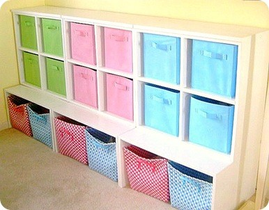Cubby Storage Wall