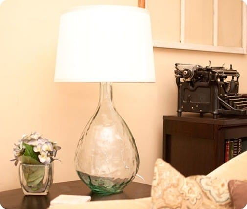 pottery barn west elm knock off lamp