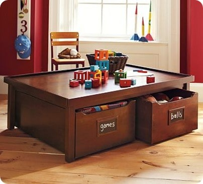Activity Table and Carts
