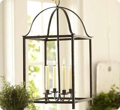 Blacksmith Taper Lantern