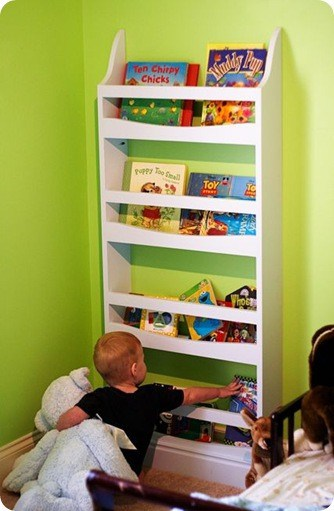 Wall Mounted Children S Bookshelf