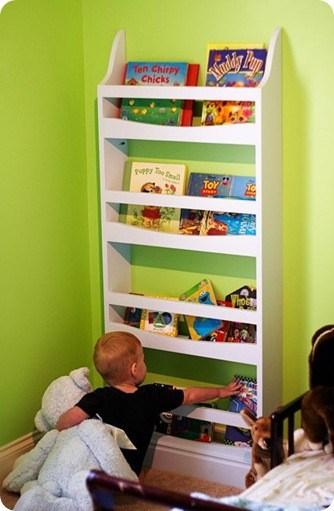 Wall Mounted Children S Bookshelf