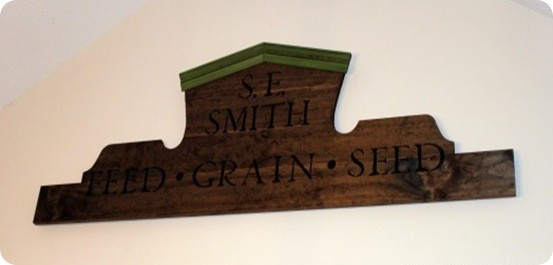 Feed Store Plaque