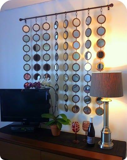 Geometric Circles Mirror