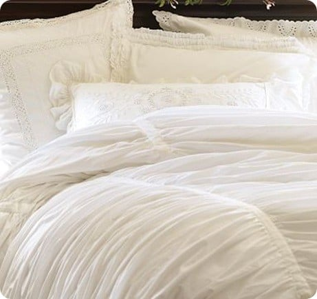 Hadley Ruched Duvet Cover