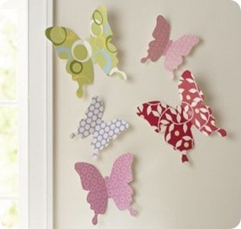 PB Butterfly Wall Art