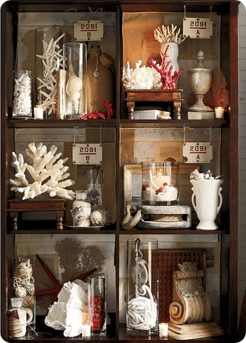 Pottery Barn Faux Coral