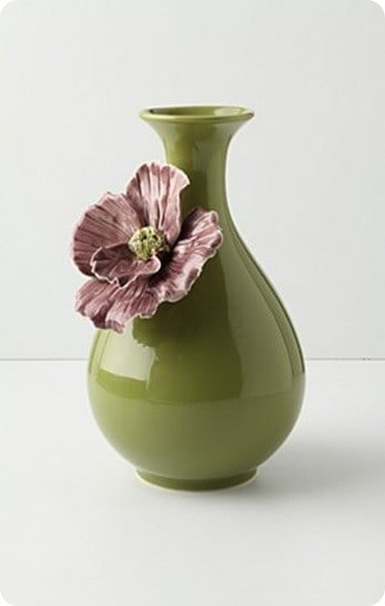 Rose of Sharon Vase