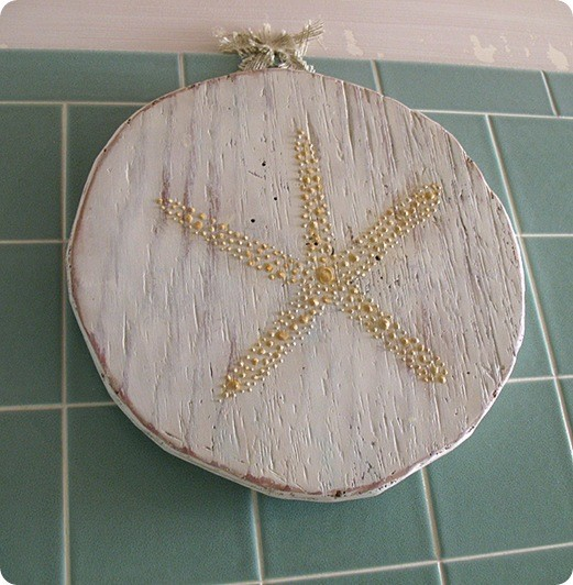 Starfish Wall Decor Pottery Barn : Bait bucket starfish plaque
