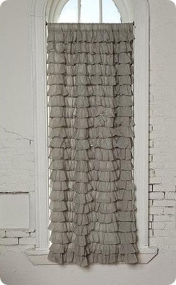 Waterfall Ruffle Curtain 2