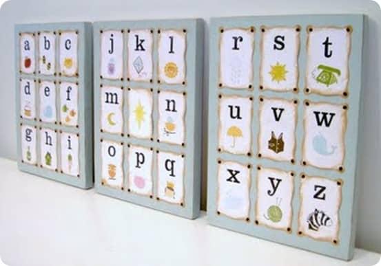 Alphabet Artwork