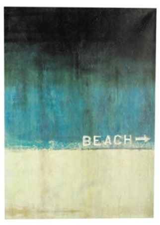Beach This Way Giclee Painting