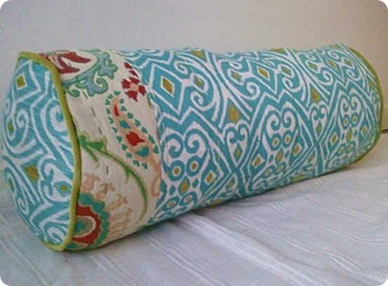 Bright Bolster Pillow