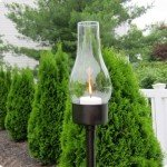 Repurposed Outdoor Candle Lantern