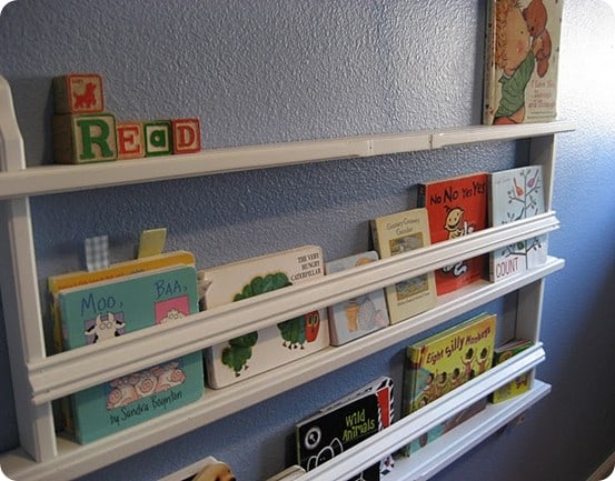 Children's Wall Book Bin 2