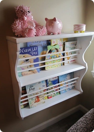Hutch Turned Bookshelf