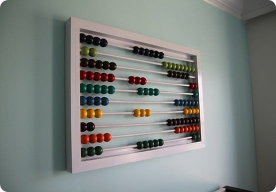 Colorful Abacus Wall Décor