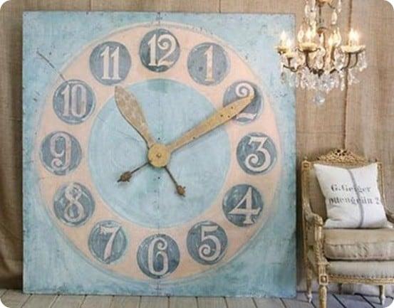 Perch Large Clock
