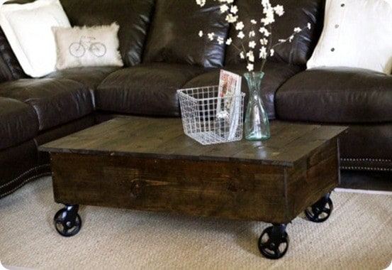 rolling cart coffee table. Black Bedroom Furniture Sets. Home Design Ideas