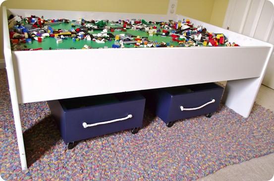 Rolling Toy Storage Cart