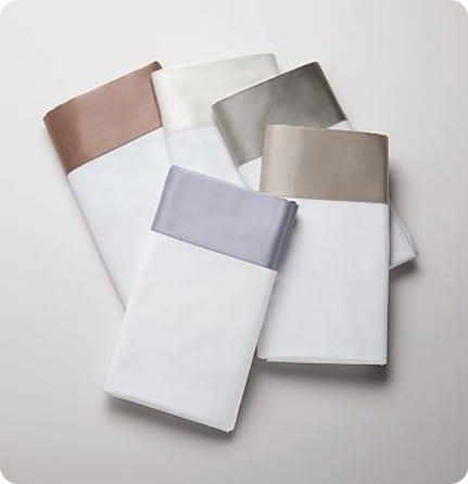Simply Vera Vera Wang 300-Thread Count Silk Cuff Sheet Set