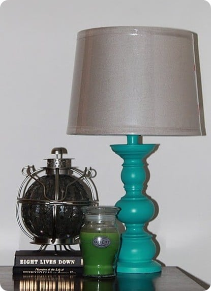 Modern Turquoise Table Lamp Knockoffdecor Com