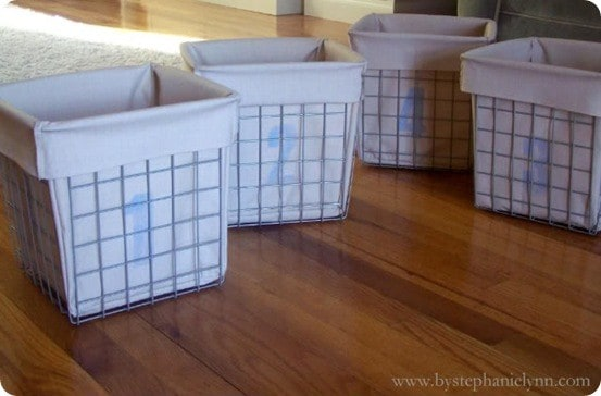 Wire Toy Storage Baskets